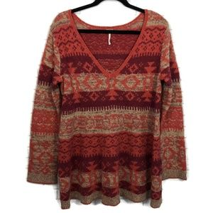 FREE PEOPLE Cabin Fever Pullover Sweater M